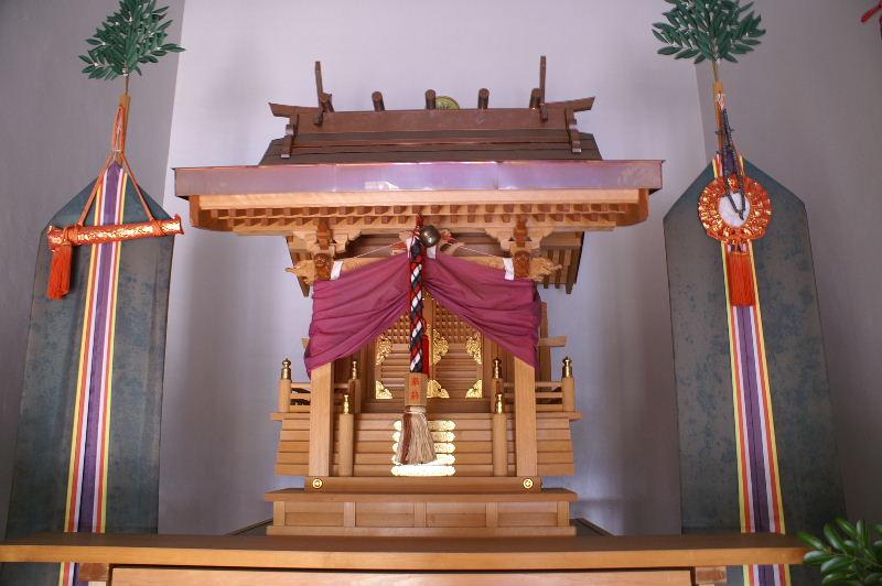 丸山稲荷神社本社拝殿