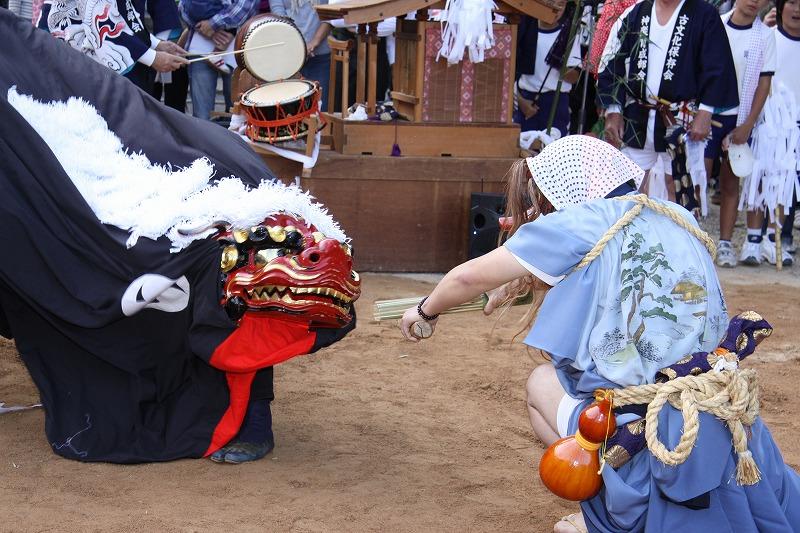 公智神社 神楽