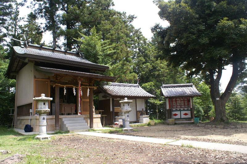 丸山稲荷神社 奥社境内