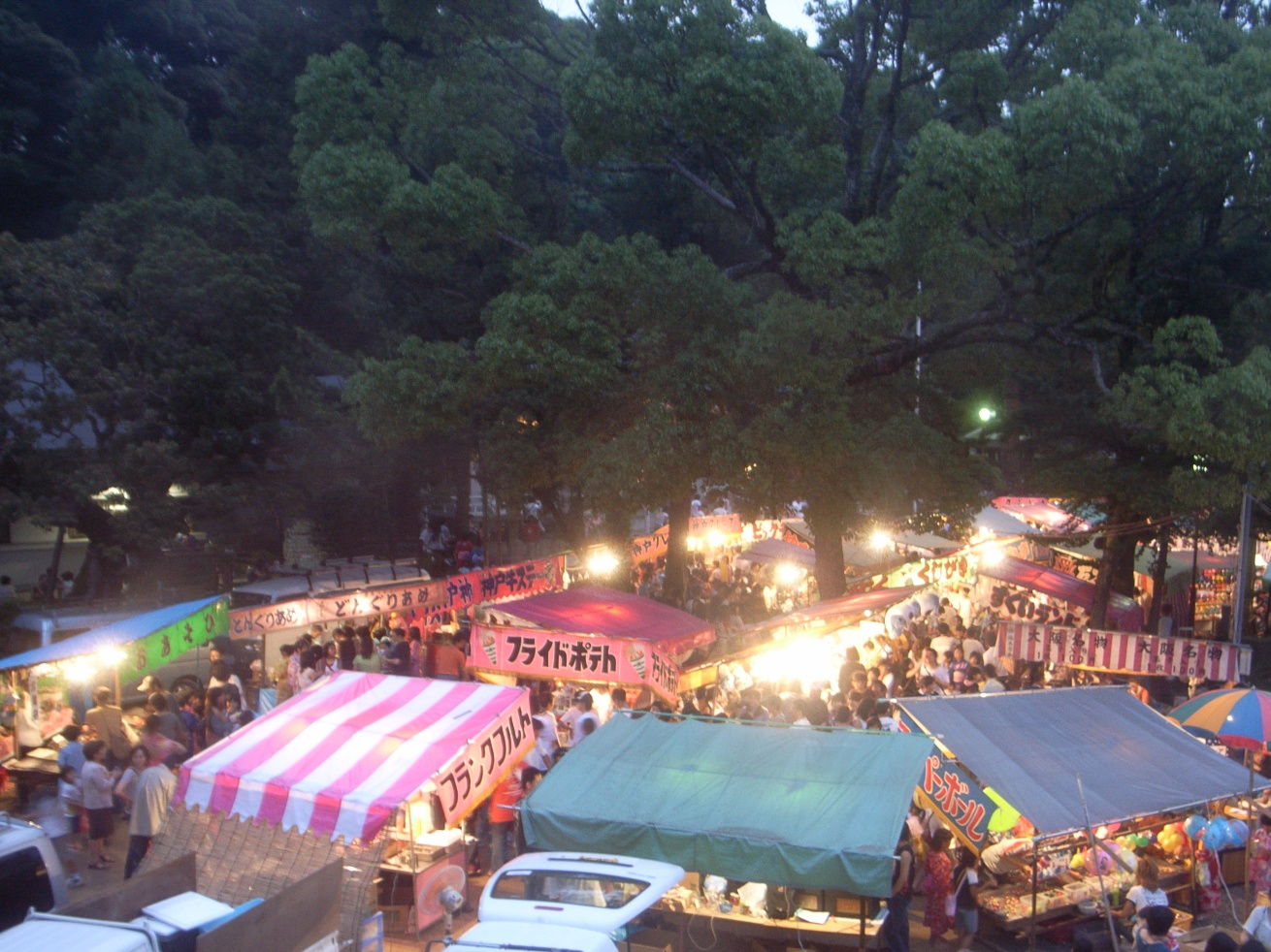 公智神社の夏祭2