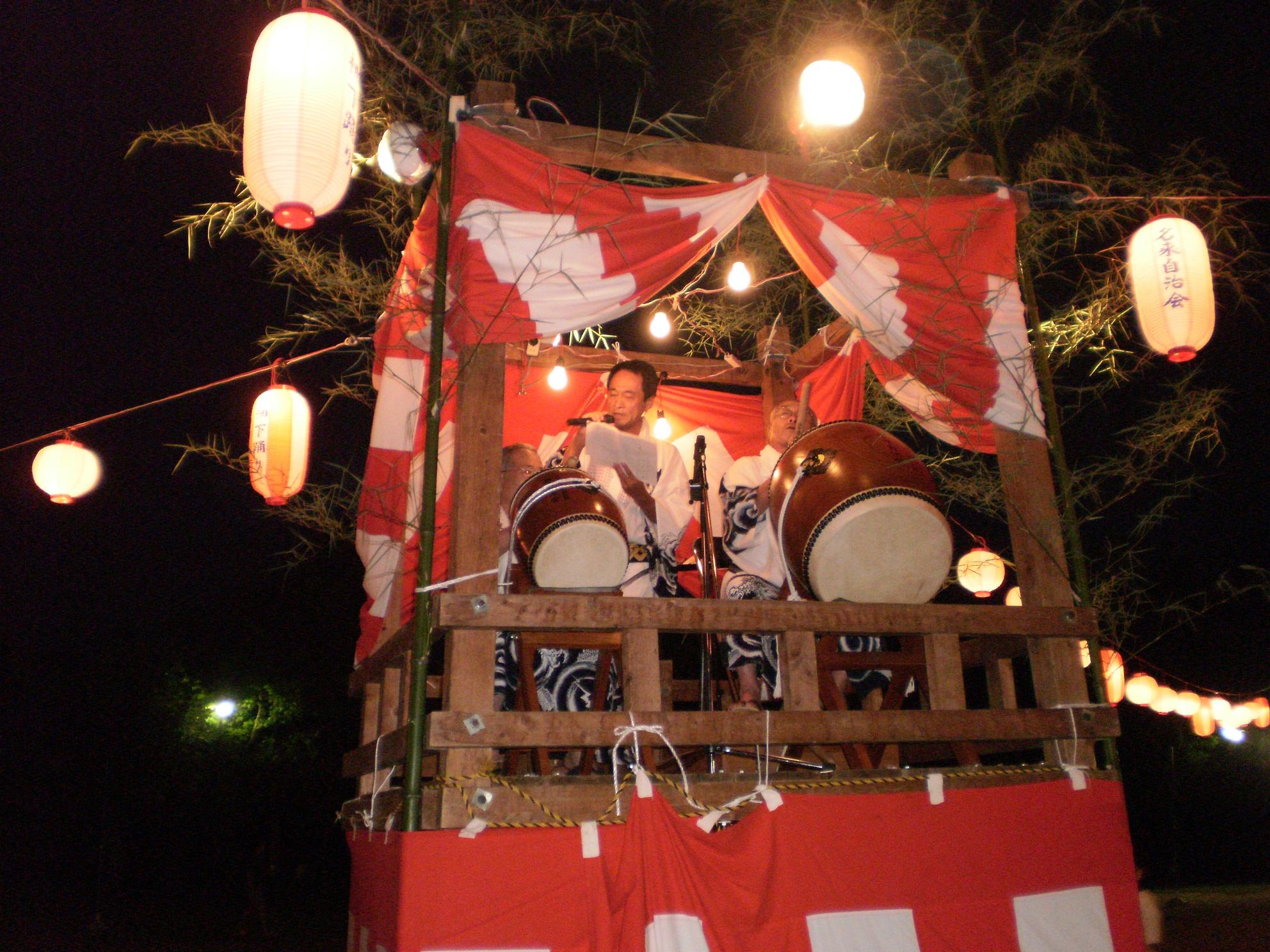 名来地区 盆踊り その3