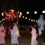 名来地区 盆踊り