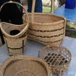 竹細工グループの作品