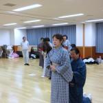 日本舞踊のお稽古 その2