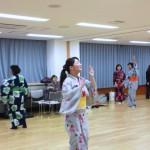 日本舞踊のお稽古 その1