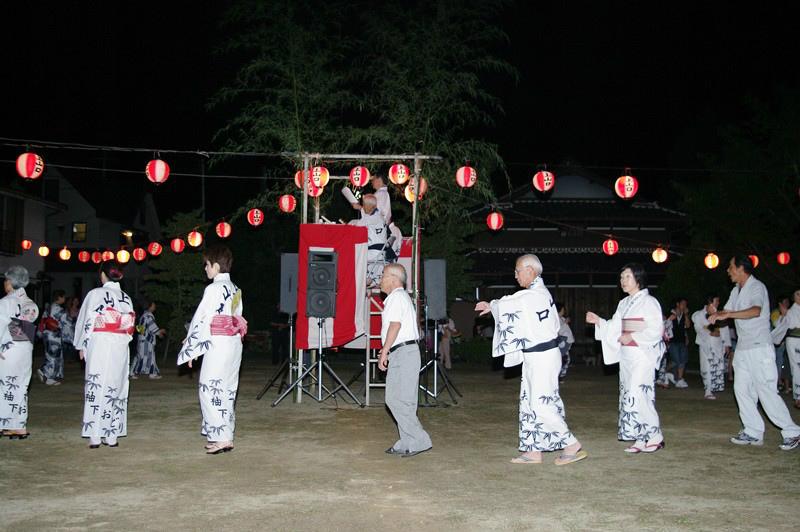 上山口地区の盆踊り