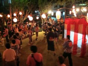 中野地区の盆踊り