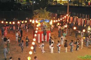 下山口地区の盆踊り