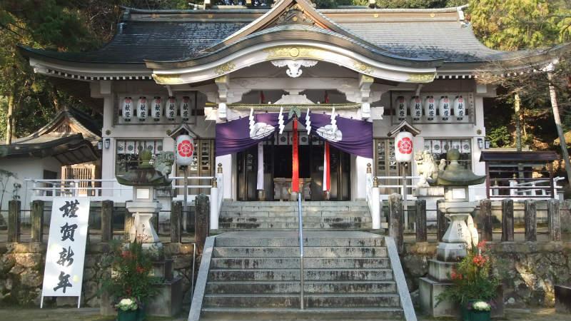 公智神社 お正月