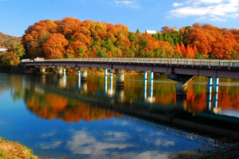みんなで選んだ山口賞 「紅葉の金仙寺橋」
