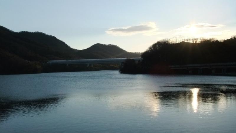 2015年元旦金仙寺湖
