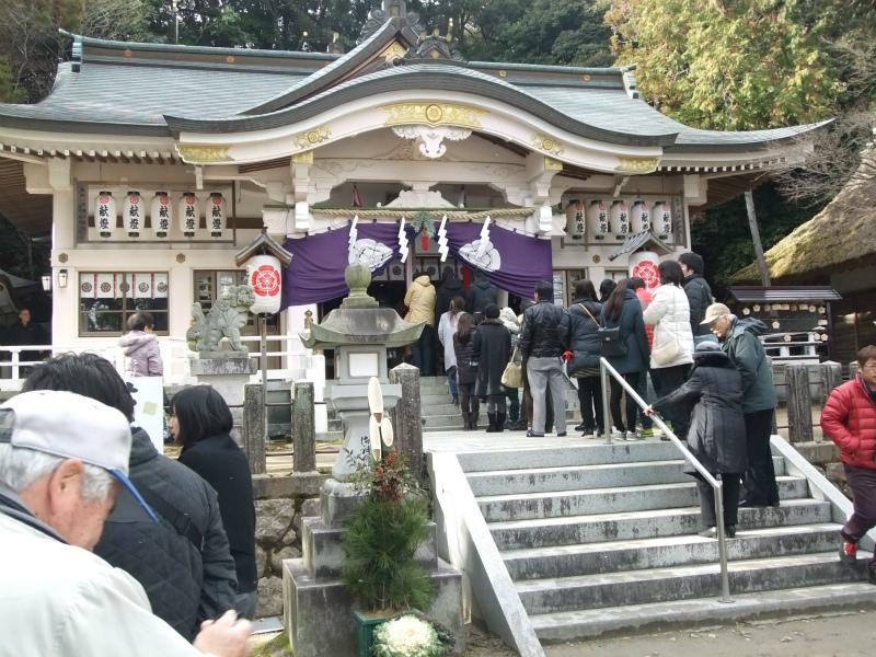 公智神社2015年初詣2
