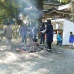 2016 公智神社 初詣 暖