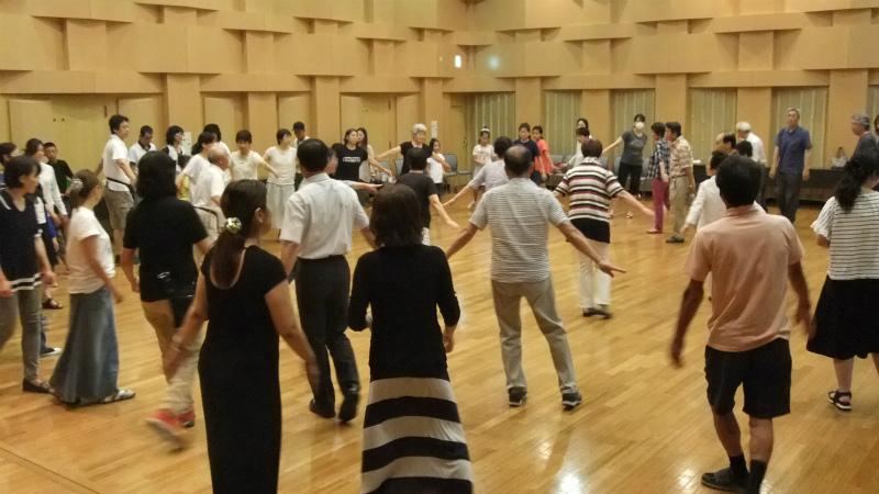 7月27日 中央伝習会風景