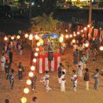 山口地区の盆踊り