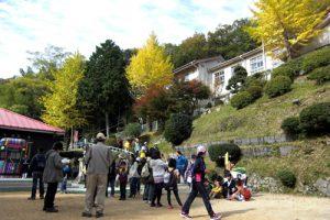 船坂里山学校(旧船坂小)にて