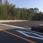 新駐車場全景