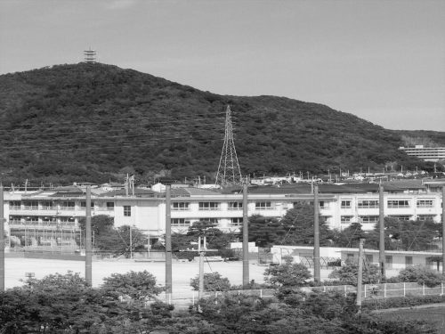 70周年の山口中学校