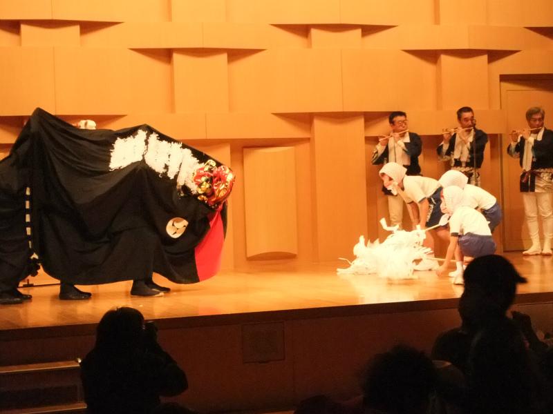 猿獅子 山口町古文化保存会 神楽舞曲育成部会