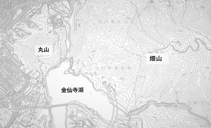 畑山と丸山