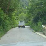 舗装道路になりました