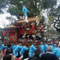 10月13日 公智神社の秋祭り