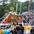 公智神社の秋祭り